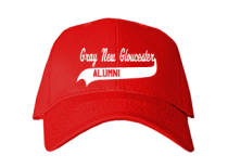Gray-New Gloucester Middle School  Baseball Caps