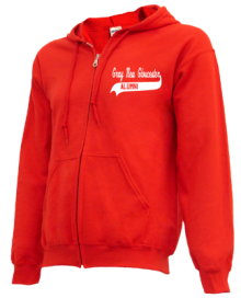 Gray-New Gloucester Middle School  Zip-up Hoodies