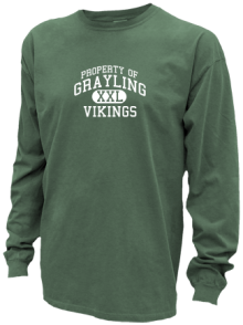 Grayling Middle School  Pigment Dyed Shirts