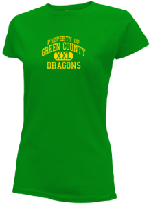 Green County Middle School  Slimfit T-Shirts