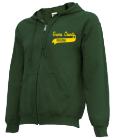 Green County Middle School  Zip-up Hoodies