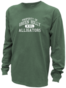 Green Holly School  Pigment Dyed Shirts