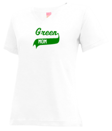 Green Primary School  V-neck Shirts