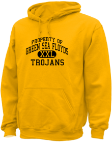 Green Sea Floyds Elementary School  Hoodies