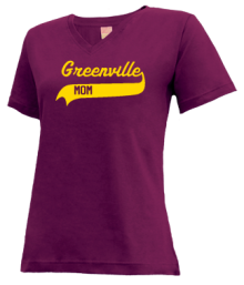 Greenville Middle School  V-neck Shirts