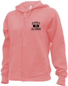 Gypsy Elementary School  Zip-up Hoodies