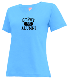 Gypsy Elementary School  V-neck Shirts
