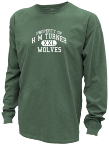 H M Turner Middle School  Pigment Dyed Shirts