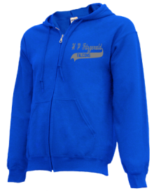 H P Fitzgerald Elementary School  Zip-up Hoodies