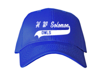 H W Solomon Junior High School Baseball Caps