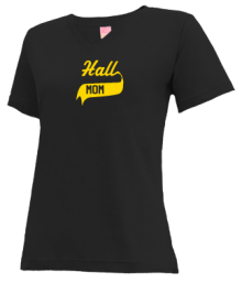 Hall Elementary School  V-neck Shirts