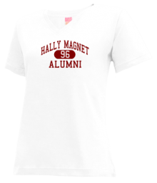 Hally Magnet Middle School  V-neck Shirts