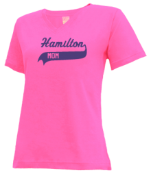 Hamilton Middle School  V-neck Shirts