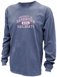 Harborview Elementary School  Pigment Dyed Shirts
