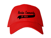 Harlan Community Middle School  Baseball Caps