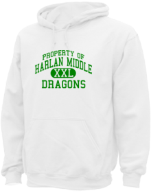 Harlan Middle School  Hoodies