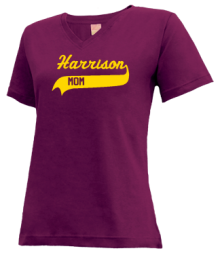 Harrison Elementary School  V-neck Shirts