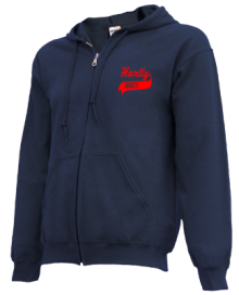 Hartly Elementary School  Zip-up Hoodies