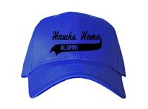 Hawks Home Elementary School  Baseball Caps