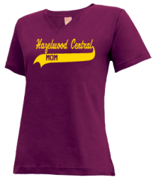 Hazelwood Central Middle School  V-neck Shirts