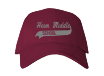 Heim Middle School  Baseball Caps