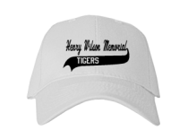 Henry Wilson Memorial School  Baseball Caps