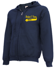 Herbert C Green School  Zip-up Hoodies