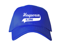 Hesperia Junior High School Baseball Caps