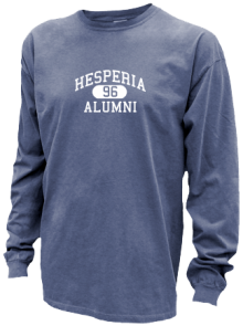 Hesperia Junior High School Pigment Dyed Shirts