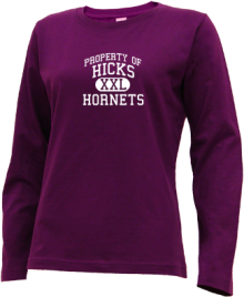 Hicks Elementary School  Long Sleeve Shirts