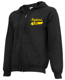 Highland Elementary School  Zip-up Hoodies