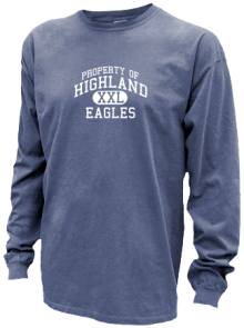 Highland Middle School  Pigment Dyed Shirts