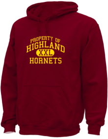 Highland Middle School  Hoodies
