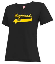 Highland Middle School  V-neck Shirts