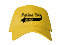 Highland Oaks Middle School  Baseball Caps