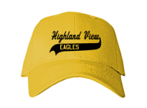Highland View Elementary School  Baseball Caps