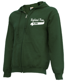 Highland View Elementary School  Zip-up Hoodies