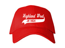 Highland West Junior High School Baseball Caps