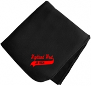Highland West Junior High School Blankets