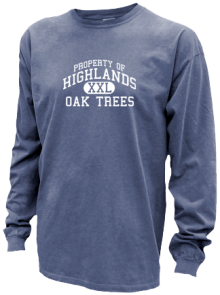 Highlands Elementary School  Pigment Dyed Shirts