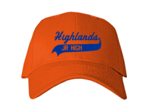 Highlands Middle School  Baseball Caps