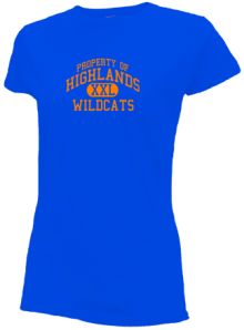 Highlands Middle School  Slimfit T-Shirts