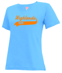 Highlands Middle School  V-neck Shirts