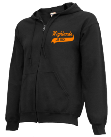 Highlands Middle School  Zip-up Hoodies