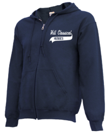 Hill Classical Middle School  Zip-up Hoodies