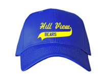 Hill View Elementary School  Baseball Caps