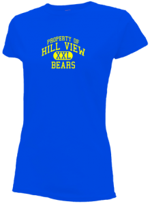 Hill View Elementary School  Slimfit T-Shirts