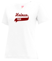 Holmen Middle School  V-neck Shirts