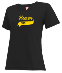 Homer Junior High School V-neck Shirts