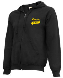 Homer Junior High School Zip-up Hoodies